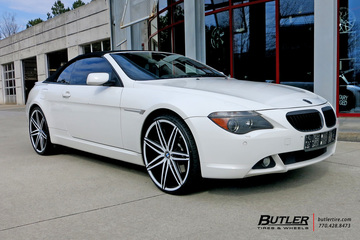 BMW 6 Series with 22in Lexani Johnson II Wheels
