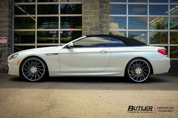 BMW 6 Series with 22in Lexani LF114 Wheels