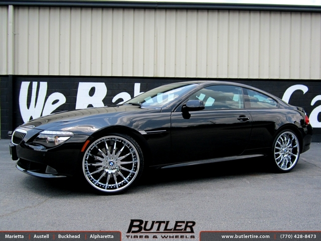 BMW 6 Series with 22in Lexani LX14 Wheels