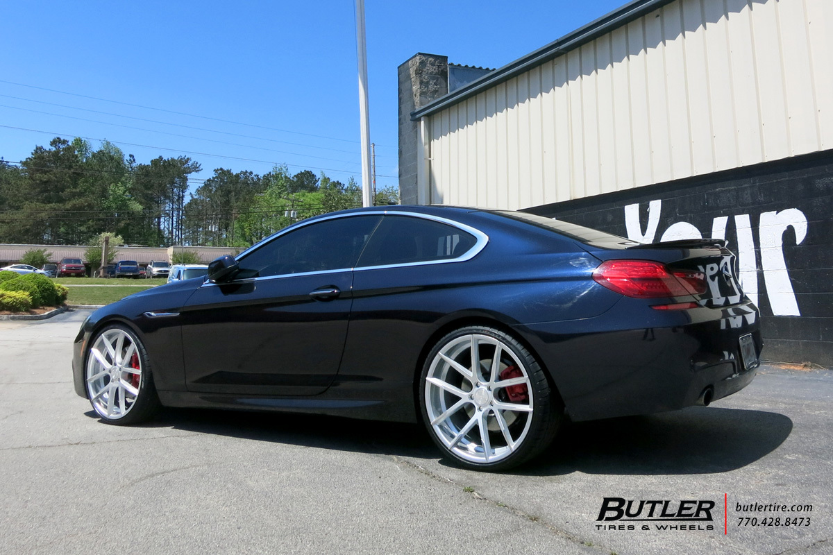 BMW 6 Series with 22in Lexani Stuttgart Wheels