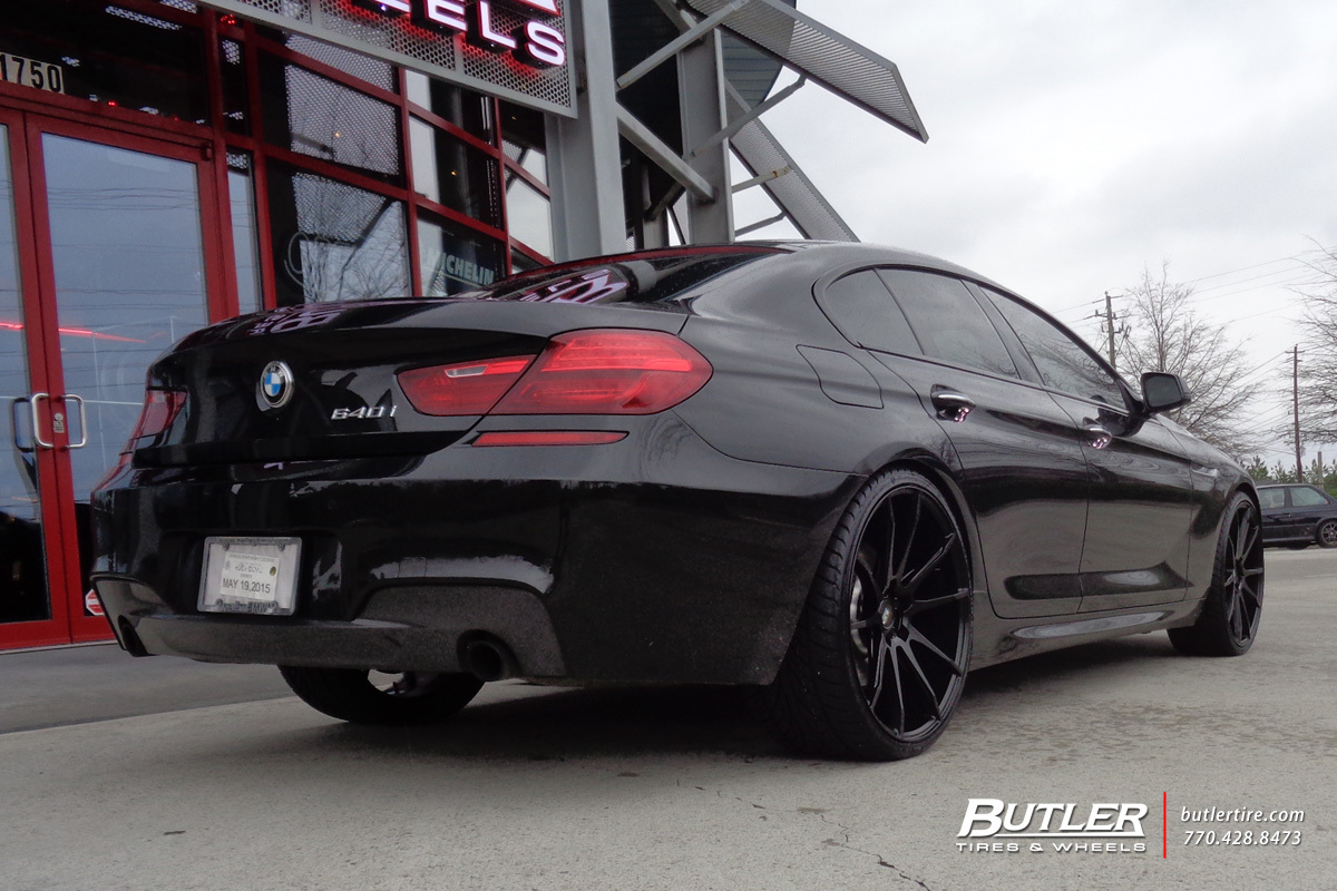 BMW 6 Series with 22in Savini BM12 Wheels