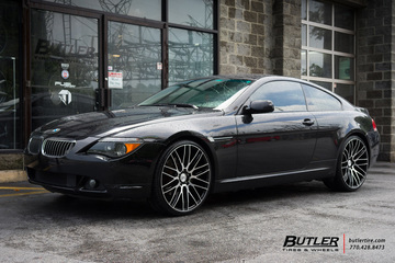 BMW 6 Series with 22in Savini BM13 Wheels