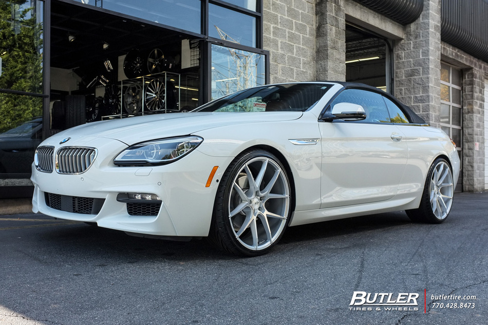 BMW 6 Series with 22in Savini BM14 Wheels exclusively from ...