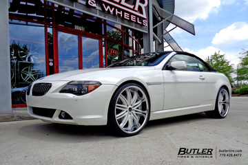 BMW 6 Series with 22in Savini BS4 Wheels
