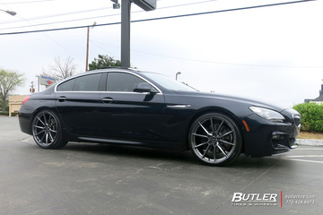 BMW 6 Series with 22in Savini SV-F 4 Wheels