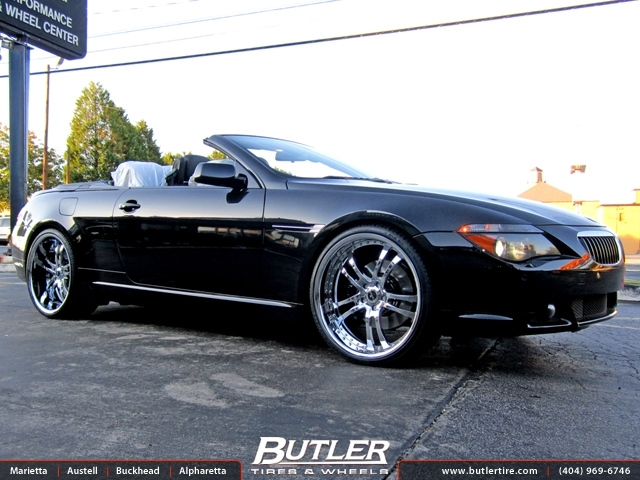 BMW 6 Series with 22in Savini SV21 Wheels