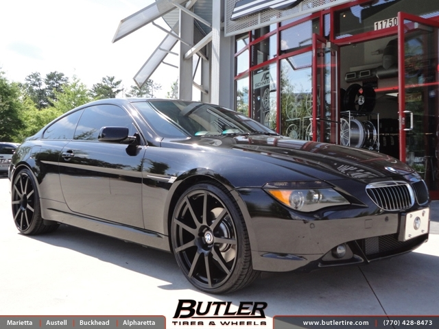 BMW 6 Series with 22in TSW Interlagos Wheels