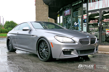 BMW 6 Series with 22in TSW Monaco Wheels