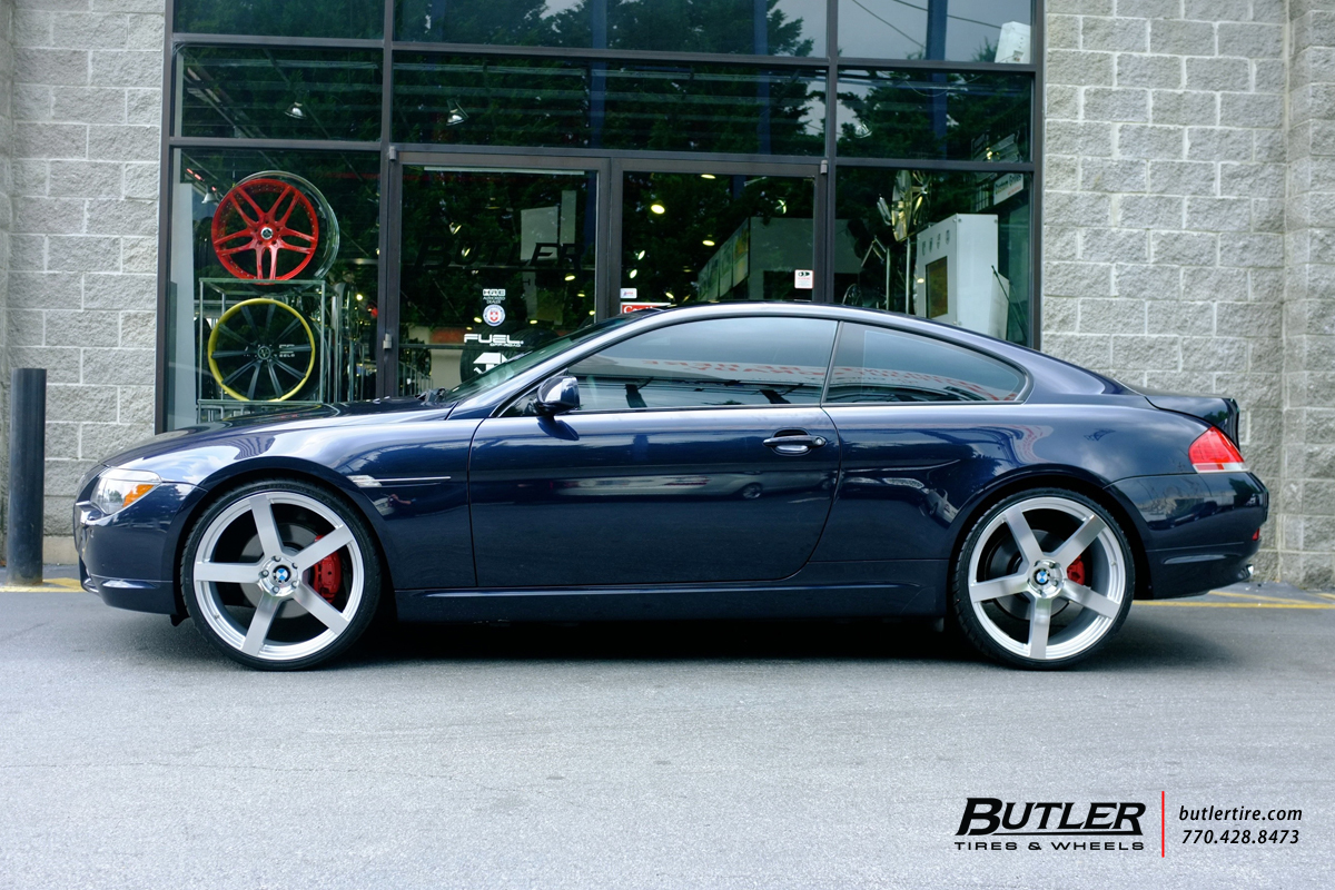 BMW 6 Series with 22in TSW Panorama Wheels