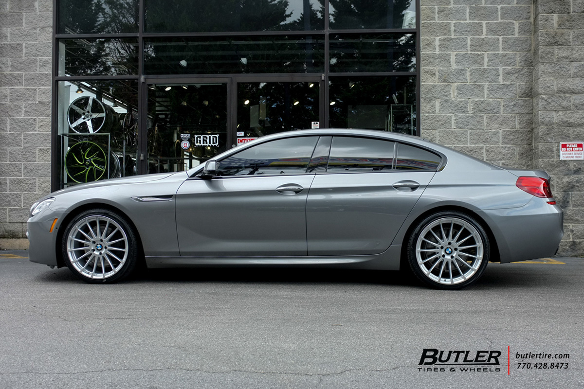 BMW 6 Series Gran Coupe with 20in Beyern Aviatic Wheels