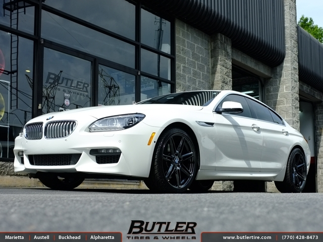 BMW 6 Series Gran Coupe with 20in Niche Lucerne Wheels
