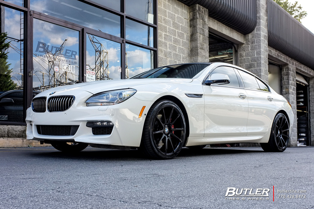 BMW 6 Series Gran Coupe with 20in Savini BM12 Wheels