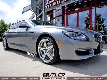 BMW 6 Series Gran Coupe with 20in TSW Mirabeau Wheels