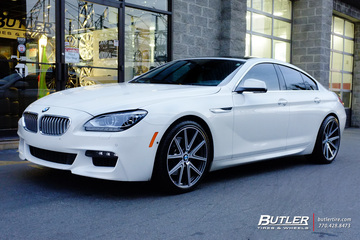 BMW 6 Series Gran Coupe with 20in TSW Rouge Wheels