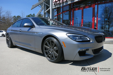 BMW 6 Series Gran Coupe with 20in Vossen CV4 Wheels