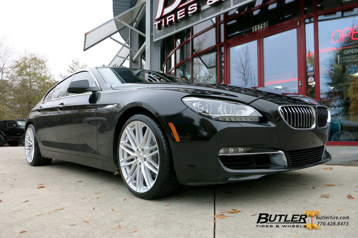 Bmw 6 Series Gran Coupe With 20in Vossen Vfs4 Wheels Exclusively