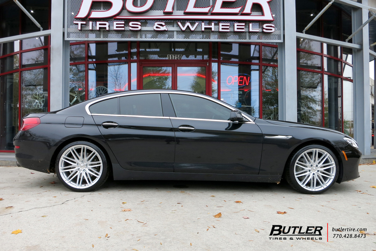 BMW 6 Series Gran Coupe with 20in Vossen VFS4 Wheels