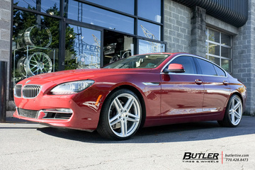 BMW 6 Series Gran Coupe with 20in Vossen VFS5 Wheels