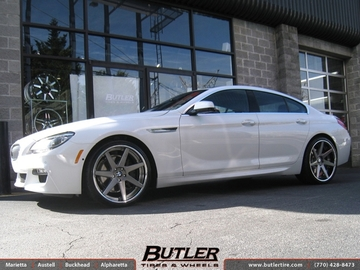BMW 6 Series Gran Coupe with 21in Dub 1 Seven Wheels
