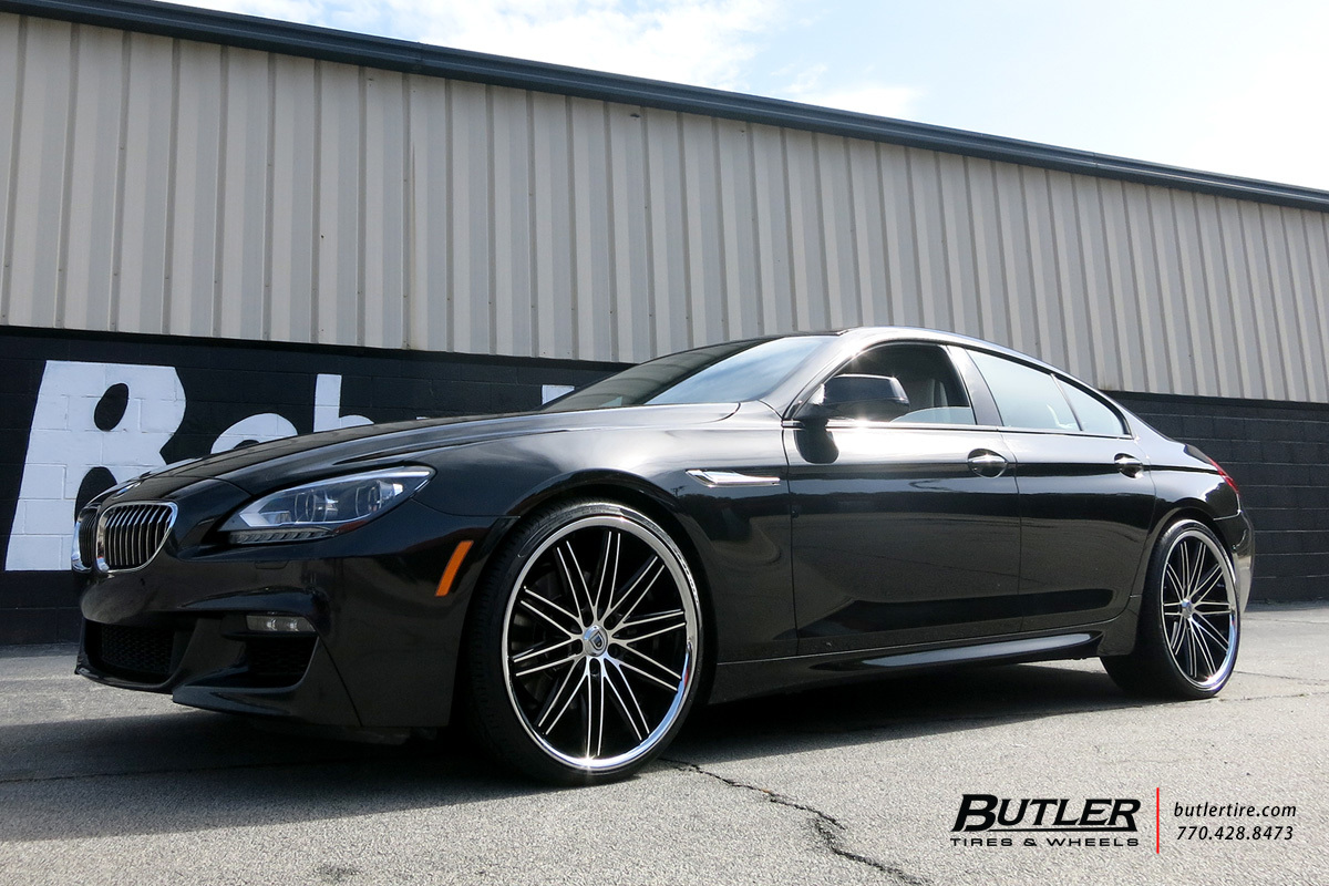 BMW 6 Series Gran Coupe with 22in Asanti ABL10 Wheels