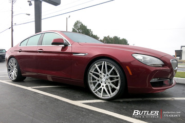 BMW 6 Series Gran Coupe with 22in Forgiato Maglia ECL Wheels