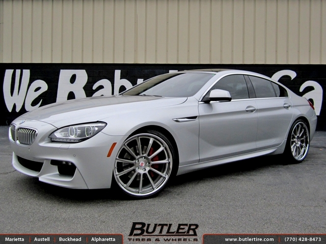 BMW 6 Series Gran Coupe with 22in HRE 793rs Wheels