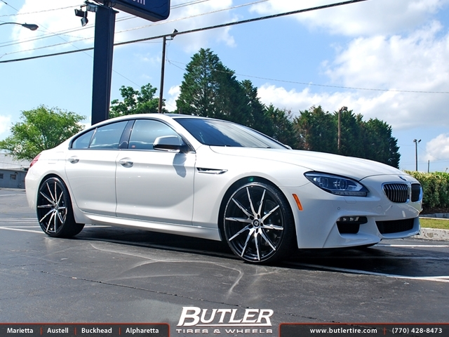 Bmw Of Atlanta >> BMW 6 Series Gran Coupe with 22in Lexani CSS15 Wheels exclusively from Butler Tires and Wheels ...