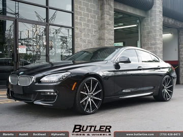 BMW 6 Series Gran Coupe with 22in Lexani CSS15 Wheels
