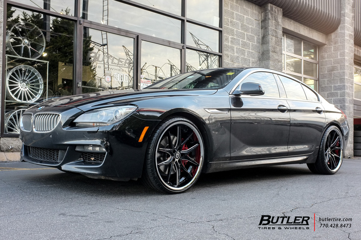BMW 6 Series Gran Coupe with 22in Lexani R-Twelve Wheels