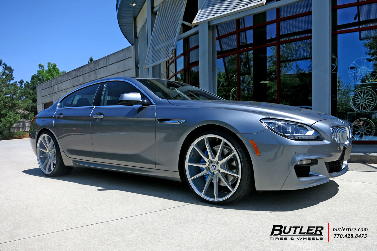 BMW 6 Series Gran Coupe with 22in Savini BM12 Wheels