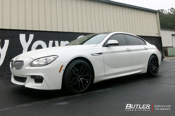 BMW 6 Series Gran Coupe with 22in Savini SV-F2 Wheels
