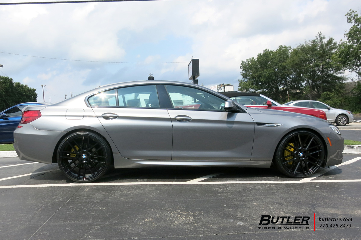 BMW 6 Series Gran Coupe with 22in TSW Mosport Wheels