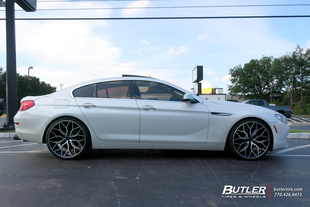 BMW 6 Series Gran Coupe with 22in Vossen HF-2 Wheels