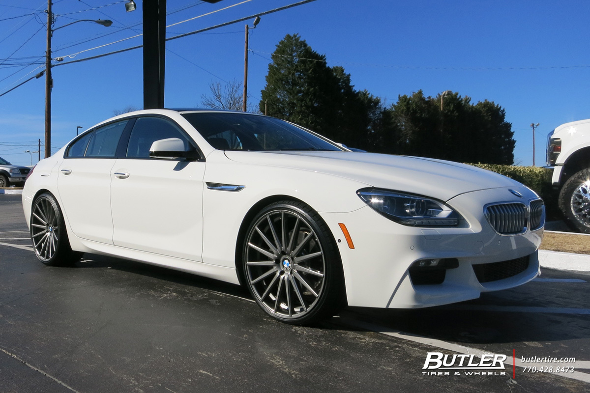 BMW 6 Series Gran Coupe with 22in Vossen VFS2 Wheels exclusively from Butler Tires and Wheels in ...