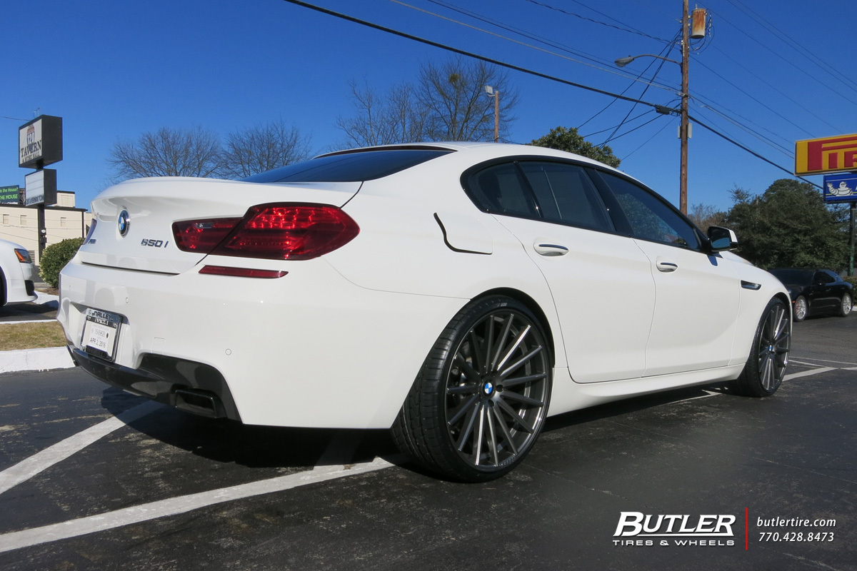 Bmw 6 Series Gran Coupe With 22in Vossen Vfs2 Wheels