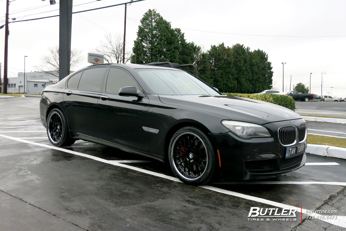 BMW 7 Series with 20in Beyern Henne Wheels exclusively from Butler