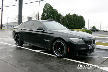 BMW 7 Series with 20in Beyern Henne Wheels