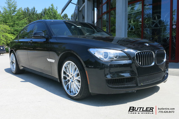 BMW 7 Series with 20in Beyern Munich Wheels