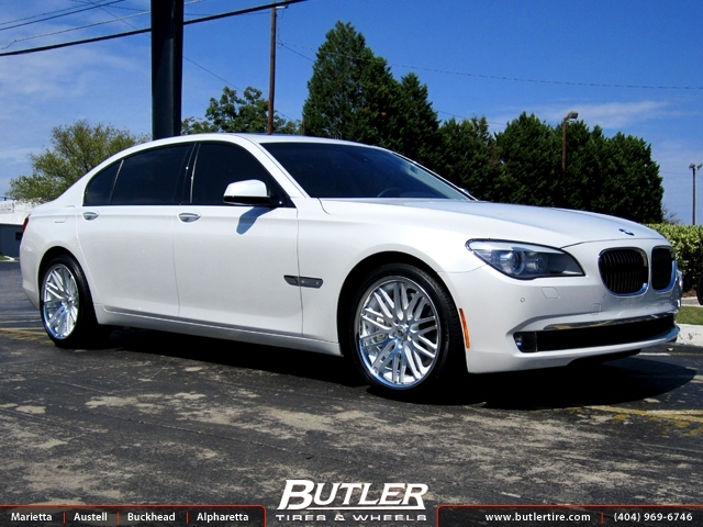BMW 7 Series with 20in Lexani CVX 44 Wheels