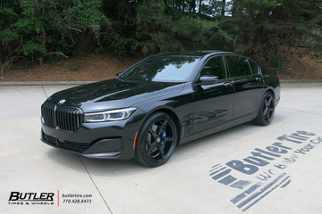 BMW 7 Series with 20in Savini BM11 Wheels