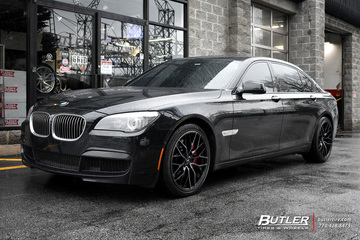 BMW 7 Series with 20in Savini SV-F2 Wheels