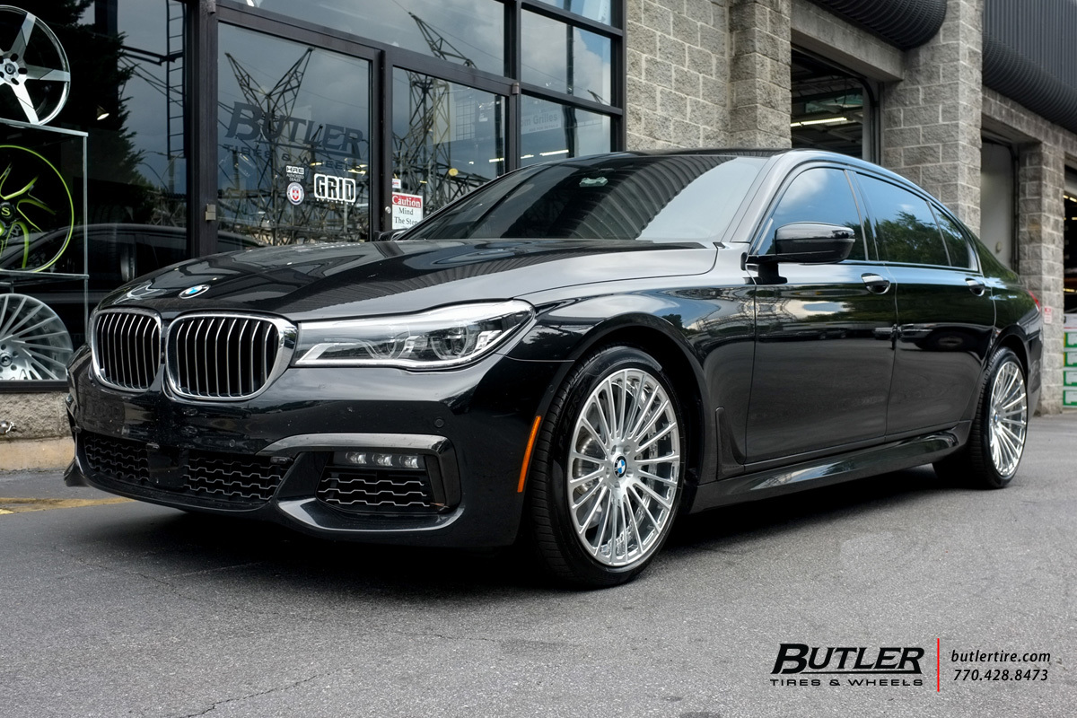 BMW 7 Series with 20in Savini SV61d Wheels exclusively ...