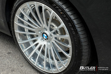 BMW 7 Series with 20in Savini SV61d Wheels