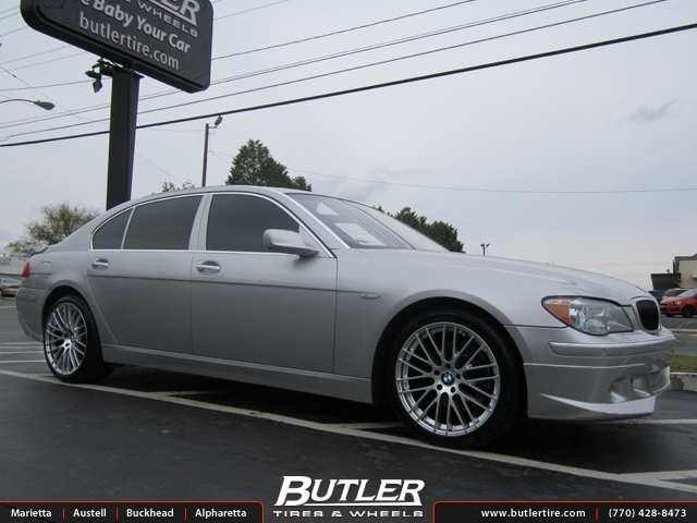 BMW 7 Series with 20in TSW Max Wheels