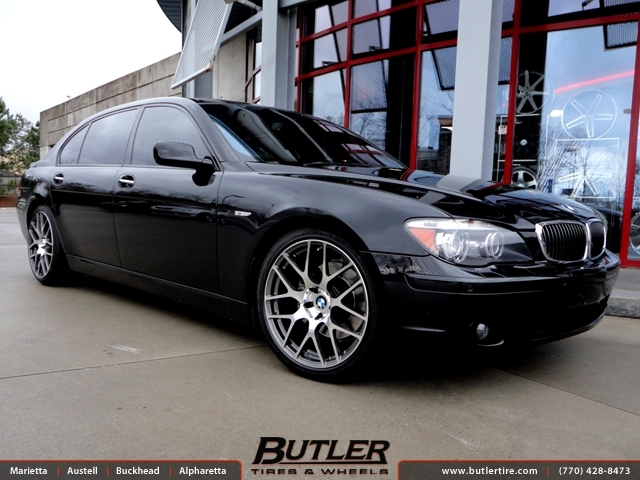 BMW 7 Series with 20in TSW Nurburgring Wheels