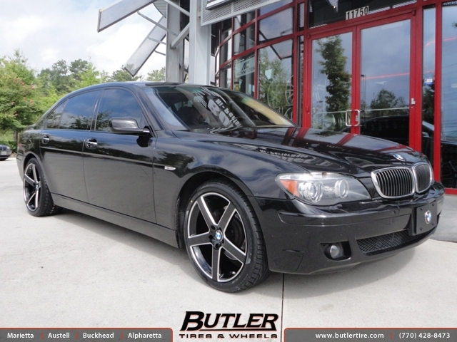 BMW 7 Series with 20in TSW Rivage Wheels