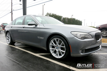 BMW 7 Series with 20in Vossen VFS6 Wheels
