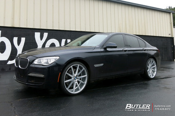 BMW 7 Series with 21in Vossen VFS1 Wheels