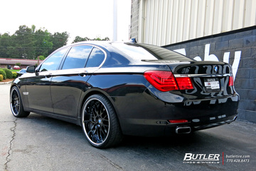 BMW 7 Series with 22in Beyern Henne Wheels