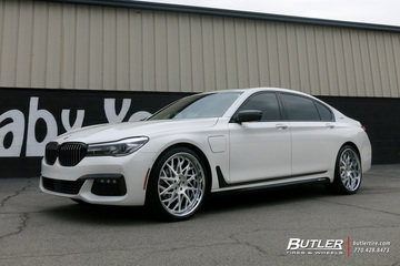 BMW 7 Series with 22in Forgiato Blocco Wheels